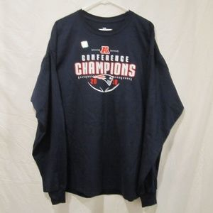 NEW ENGLAND PATRIOTS CONFERENCE CHAMPION SHIRT